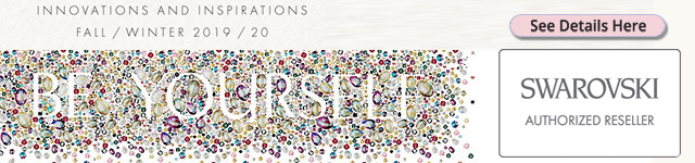 Swarovski Innovations and Inspirations Fall Winter 2019-2020 Launch Banner