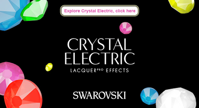 Swarovski Innovations and Inspirations Electric Neon Crystals