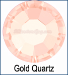 Gold Quartz Rhinestone