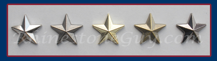 Hot Fix Star nailheads in 5 colors
