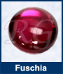 Fuschia Glass Cabochons