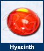 Hyacinth Glass Cabochon