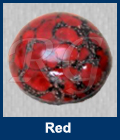 Red Matrix Cabochon