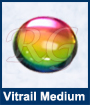 Vitrail Medium Glass Cabochon