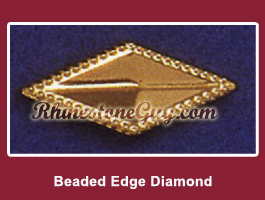 Beaded Diamond