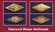 Diamond Shape Nailhead