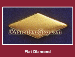 Flat Diamond Nailhead