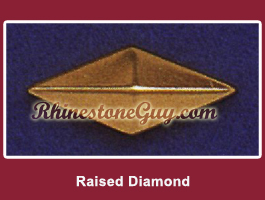 Raised Diamond