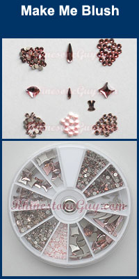 Swarovski Nail Art Kit Make Me Blush