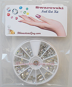 RG Nail Kit Package Crystal AB