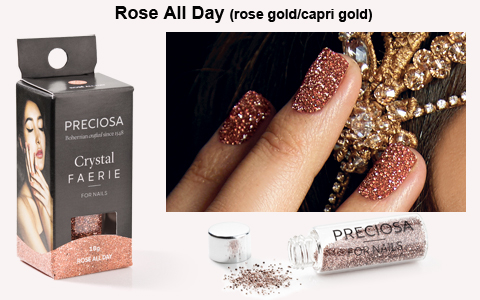 preciosa crystal faerie rose all day rose gold