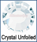 Crystal Unfoiled Rhinestone