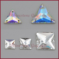 RG Premium Sew On Jewels Triangles and Rectangles