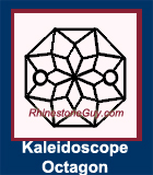 RG Kaleidoscope Octagon Sew On