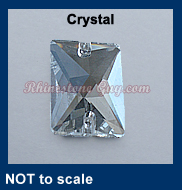 RG Rectangle Sew On Crystal