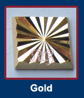 Radiance Square Gold