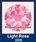 Swarovski Light Rose