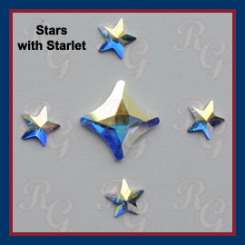 Starlets with Rivoli Stars