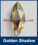 Swarovski 2201 Golden Shadow