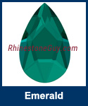 Swarovski 2303 Emerald Pear Jewel Cut