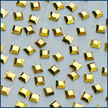 Swarovski 2400 mini square aurum