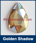 Swarovski 2303 Golden Shadow Pear Jewel Cut