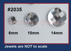 Swarovski 2035 Chessboard Rounds Sizes