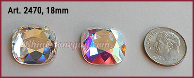 Swarovski 2470 Size cushion Cut
