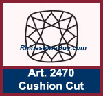 Swarovski Cushion Cut Square 2470