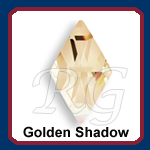 Swarovski Rhombus 2709 Golden Shadow