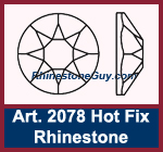 Swarovski Hot Fix Rhinestones