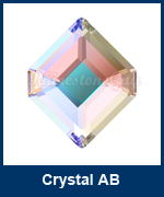 Art 2777 Concise Hexagon Crystal AB