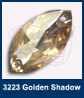 Swarovski 3223 Golden Shadow