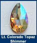 Swarovski 3230 Light Colorado Topaz Shimmer