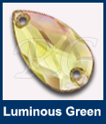 Swarovski 3230 Luminous Green