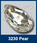 Swarovski 3230 Crystal Pear