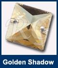 Swarovski 3240 Golden Shadow