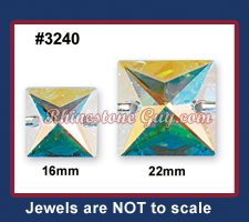 Swarovski 3240 Sew On