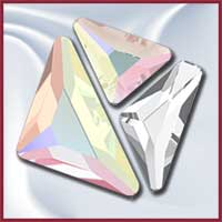 Swarovski Flat Back Triangles