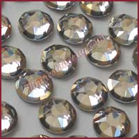 Swarovski Rimmed Rhinestone Crystal Light Chrome
