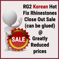 Korean Rhinestones Sale