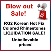 Rg Liquidation Sale Sign