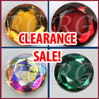 Rose Cut Jewels Clearance Sale