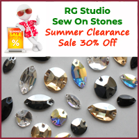 RG Sew On Stones Clearance