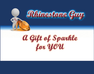 Rhinestone Guy Gift Card Cover Sample
