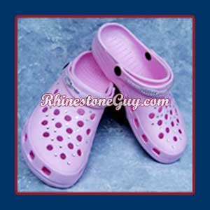 Crocs with Rhinestones