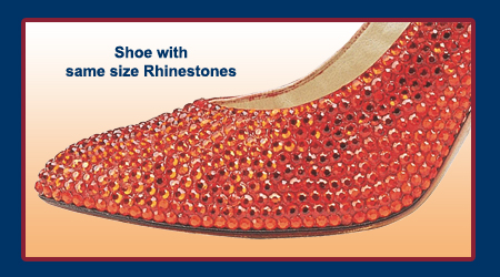 How to Rhinestones Shoes and Flip Flops 36ed72d0c42e