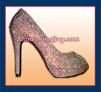 Rhinestone Shoe Strassed