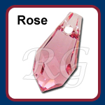 Swarovski 6000 Drop Rose