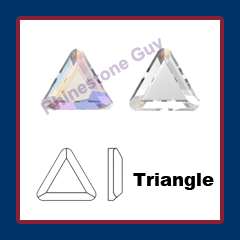 Czech Preciosa Triangle